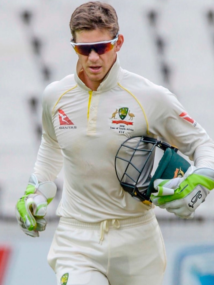Tim Paine Australian Test Skipper will lead the Ashes UK Tour in August and September 2019