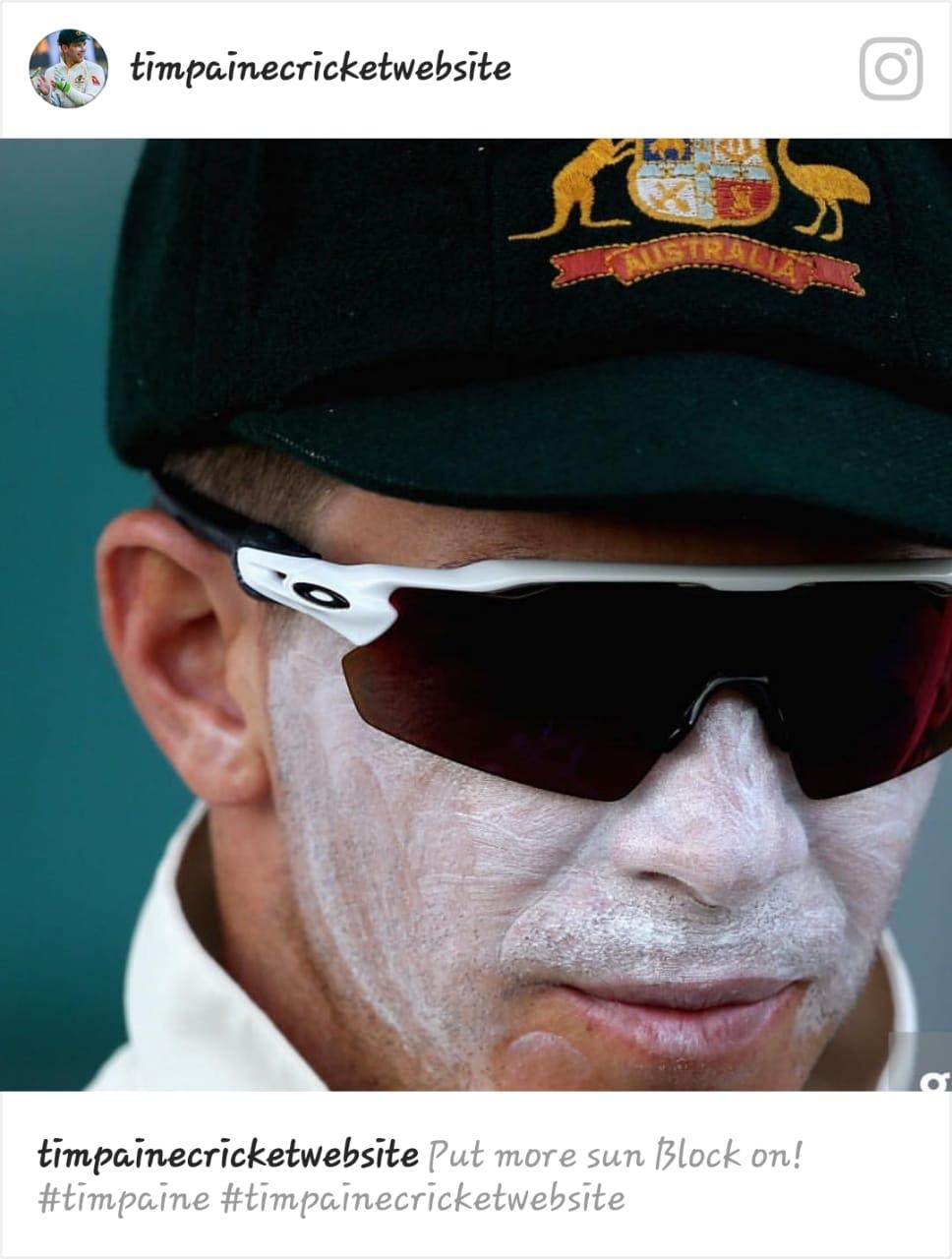Tim Paine Australian Test Skipper. Will be Tasmanian wicket keeper this week at SCG