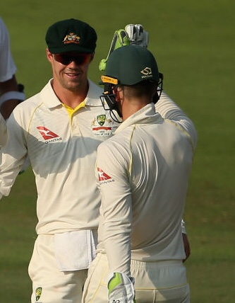Tim Paine and Travis Head