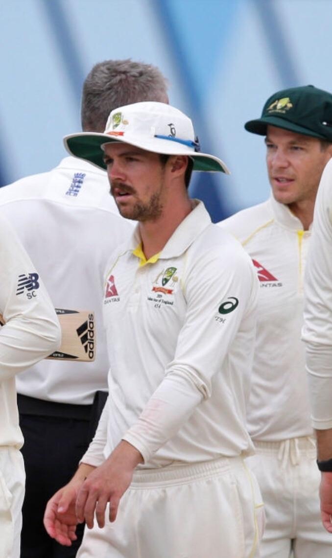 Tim Paine and Travis Head Australian captain and Australian Test Vice Captains